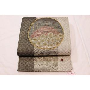 未使用/ コスモスとてんとう虫のすくい袋帯|kimono-himesakura