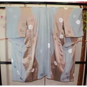 未使用/ お洒落な絞りの長襦袢|kimono-himesakura
