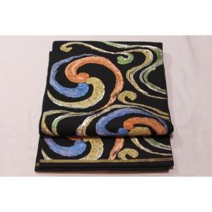 リサイクル/ モールの流水柄の袋帯|kimono-himesakura