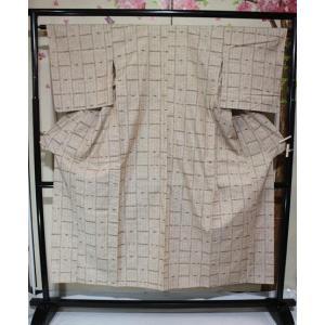 リサイクル/ ぜんまい紬の単 kimono-himesakura