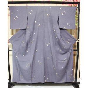リサイクル/ 花輪小紋・単 kimono-himesakura