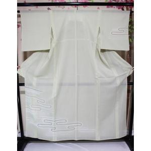 リサイクル/ 流水柄の紗の付下げ kimono-himesakura
