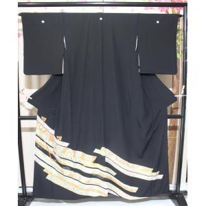 リサイクル/ 正倉院柄の黒留袖|kimono-himesakura