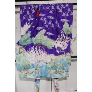 アンティーク/ 友禅の錦紗子供|kimono-himesakura