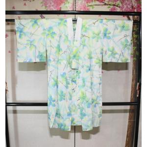 リサイクル/ 花模様の長襦袢|kimono-himesakura