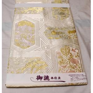 新品/ 山口美術織物・唐織の名古屋帯|kimono-himesakura