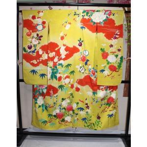 アンティーク / 刺繍使いアンティーク振袖|kimono-himesakura