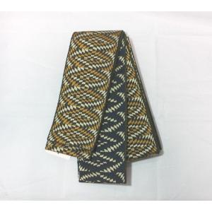 未使用/ 変わり織のリバーシブル角帯 kimono-himesakura