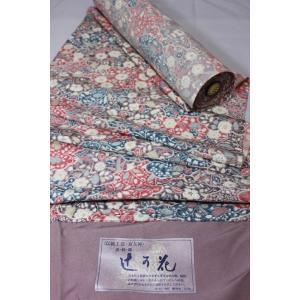 未使用/ 伝統工芸・京友禅 辻が花模様の反物|kimono-himesakura