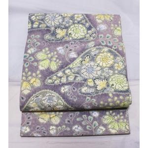 未使用/ 辻が花模様の袋帯 kimono-himesakura