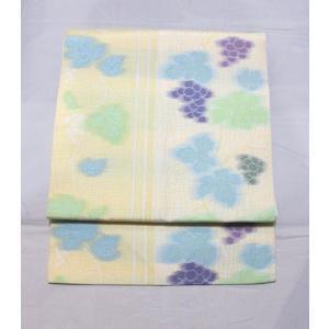 新品/ ブドウ柄の爽やかな名古屋帯|kimono-himesakura