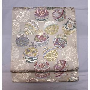 リサイクル/ 鈴柄の唐織の袋帯 kimono-himesakura