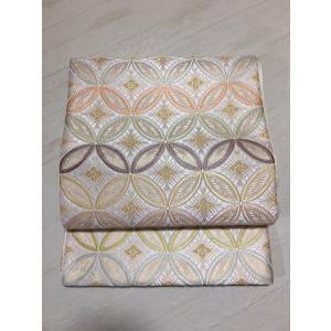 新品/ 河合織物・七宝つなぎの袋帯|kimono-himesakura