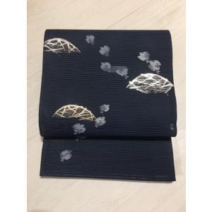 未使用/ 波千鳥の夏の絽の袋帯|kimono-himesakura