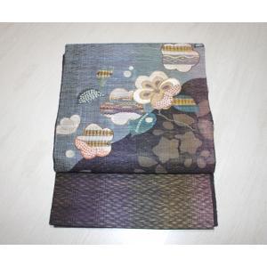 未使用/ すくい織りの辻ヶ花模様の袋帯 きものやまと|kimono-himesakura