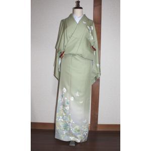 未使用/ 友禅の訪問着 kimono-himesakura