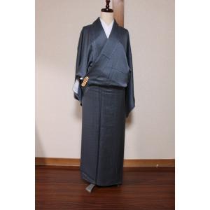 未使用/ 斎藤三才の小紋の着物|kimono-himesakura