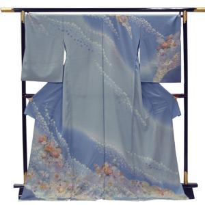 正絹 未仕立て訪問着 【お仕立・八掛・湯通し・胴裏代込】|kimono-japan