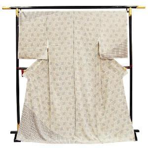 訪問着 正絹 未仕立ておしゃれ小紋 絵羽小紋  【フルオーダーお仕立・八掛・湯通し・胴裏代込】|kimono-japan