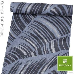 浴衣反物 単品 未仕立て【京舞/男物 黒×橡色 渦龍】14442|kimono-japan