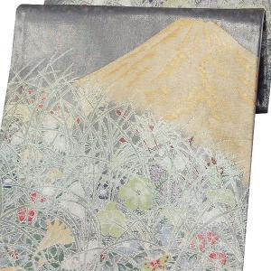 袋帯 西陣織 正絹 「山景色」 六通柄 お仕立代込|kimono-japan