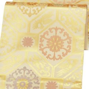 袋帯 正絹 西陣織 六通柄 「帯屋道伯」 〔お仕立代込〕|kimono-japan