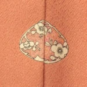 仕立て上がり色留袖 紋入れ 背縫い加工 kimono-japan
