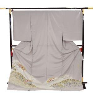 正絹 色留袖  〔未仕立〕 kimono-japan