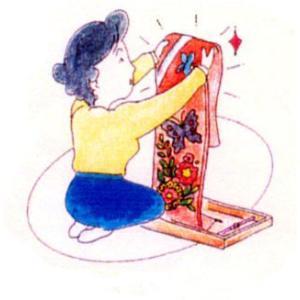 名古屋帯(芯入れ)とりかえ|kimono-kobo