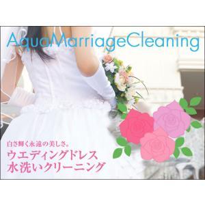 ウエディングドレス水洗いオールインワン cleaning【カラーも可】|kimono-kobo