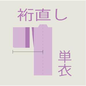 裄直し 【単衣】|kimono-kobo