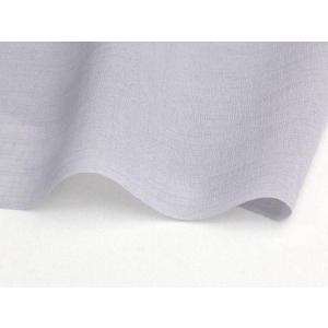洗える着物 男物 夏物 紗紬 大きいサイズ用 シルバーグレー 超トールサイズ用 185〜200cm対応 kimono-kyoto