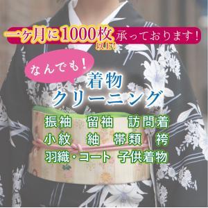 着物クリーニング 訪問着 留袖 付け下げ 振袖 小紋 紬 袋帯 名古屋帯 半幅帯 長襦袢 着物の種類...