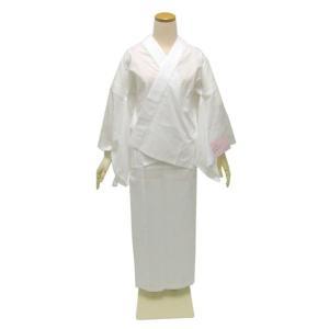 【夏の絽】お仕立て上がり洗える二部式長襦袢 白地  送料無料対象外|kimono-kyoukomati