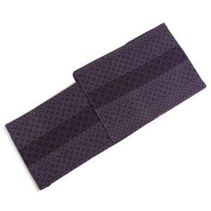 東レシルジェリーお仕立て上がり洗える着物 渋紫地幾何学ストライプ フリーサイズ|kimono-kyoukomati