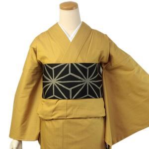 着物 デニム 女性 カジュアル レディース イエロー フリーサイズ 仕立て上がり 送料無料|kimono-kyoukomati