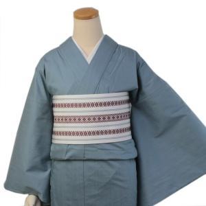 着物 デニム 女性 カジュアル レディース ブルー フリーサイズ 仕立て上がり 送料無料|kimono-kyoukomati