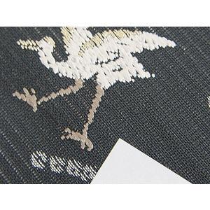 さらに値引きしました30%OFF 新品 川島織物 絽 織九寸名古屋帯 連山瑞小紋 夏帯 墨色 特選(お仕立付き)|kimono-maruichi|18