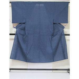 【未使用】【しじら織】【仕付けアリ】【男物】【浴衣】大変キレイな状態です☆紺藍☆170cm【美品】|kimono-maruichi