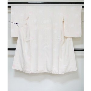 ●さらに!値引きしました30%OFF【正絹】【長襦袢】【袷】本袷仕様/梅/シェルピンク【美品】148cmベスト|kimono-maruichi