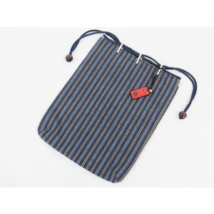 【新品】信玄袋/男物巾着B 【メール便可】|kimono-maruichi