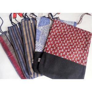 【新品】信玄袋/男女兼用/巾着E 【メール便可】|kimono-maruichi|04