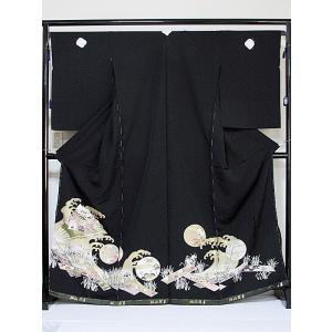 さらに値下げしました20% 黒留袖 新品・新古・アウトレット 未仕立て 仮絵羽 5ッ紋石持ち 刺繍 琳派祥華|kimono-maruichi