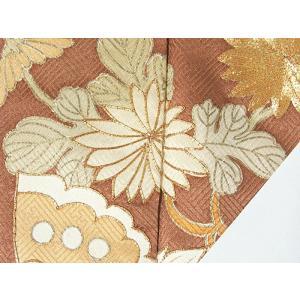 さらに値引きしました30%OFF 色留袖 正絹 共八掛 3つ紋(金糸縫い紋) 雲取りに花車 揚羽蝶 154cm前後ベスト 美品|kimono-maruichi|12