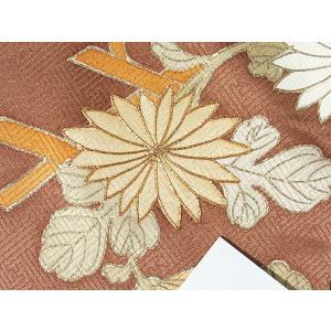 さらに値引きしました30%OFF 色留袖 正絹 共八掛 3つ紋(金糸縫い紋) 雲取りに花車 揚羽蝶 154cm前後ベスト 美品|kimono-maruichi|13