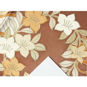 さらに値引きしました30%OFF 色留袖 正絹 共八掛 3つ紋(金糸縫い紋) 雲取りに花車 揚羽蝶 154cm前後ベスト 美品|kimono-maruichi|18