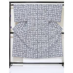 ●さらに!値下げしました20%OFF【未使用 仕付けアリ】【男物】【浴衣】非常にキレイな状態です/藍 白☆179cmベスト【美品】|kimono-maruichi