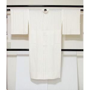 【白 長襦袢】正絹 袷 胴抜き 新品白半衿付き 居敷当付き☆153cm前後ベスト【美品】|kimono-maruichi
