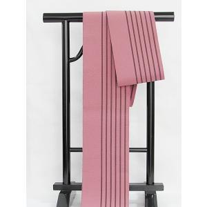 ●さらに!値引きしました40%OFF【半巾帯】単衣帯/綿/浴衣 街着 おしゃれ着に♪★紫がかったピンク kimono-maruichi