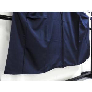 【男物】お召袷着物  大変良い状態です!! 164cm前後ベストサイズ☆紺 kimono-maruichi 03